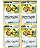 Pokemon Trainer Set - Telescopic Sight 160/185 - Sun Moon Vivid Voltage - x4 Tool Card Lot
