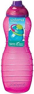 Sistema Davina Water Bottle Twist N Sip 700ML Pink