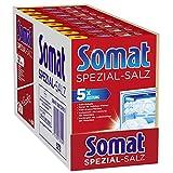 Somat Spezial-Salz, Spülmaschinensalz, für bessere Geschirrspülleistung (8 x 1,2kg)