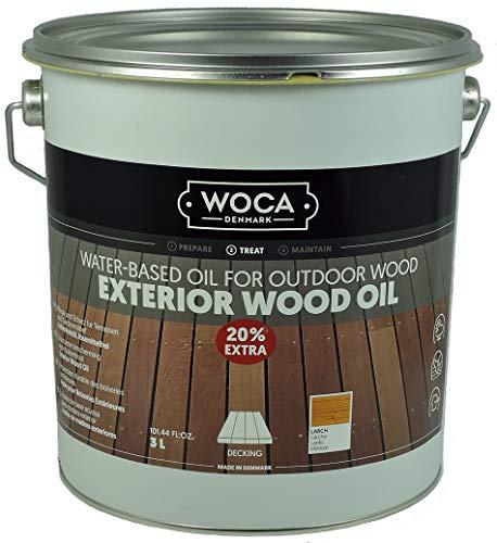 WOCA Außenholzöl Exterior Wood Oil *Lärche* 3,0 Liter