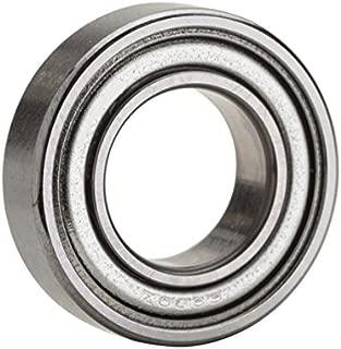 NTN Bearing 6200ZZ Single Row Deep Groove Radial Ball Bearing, Normal Clearance, Steel Cage, 10 mm Bore ID, 30 mm OD, 9 mm Width, Double Shielded