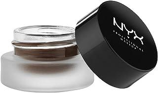 NYX PROFESSIONAL MAKEUP Gel Liner & Smudger, Gel Eyeliner - Charlotte, True Matte Brown