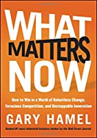 What Matters Now: How to Win in a World of Relentless Change, Ferocious Competition, and Unstoppable Innovation