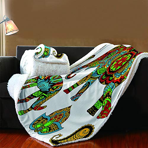 Thick Washed Soft Blanket Single Blanket For Office, Airport And Bus Simple And Fresh Style 10 Sizes