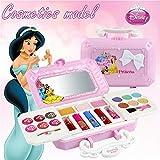 Disney 23pcs Princess Kit De Maquillage De Filles avec miroir | Lavable et non...