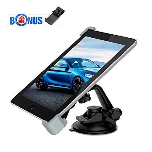 MEMTEQ Car Mount Tablet Holder, Car Universal Tablet Mount with...