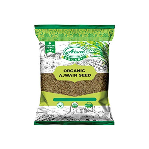 AIVA Organic Ajwain Seeds (Bishop Weeds) 3.5 oz