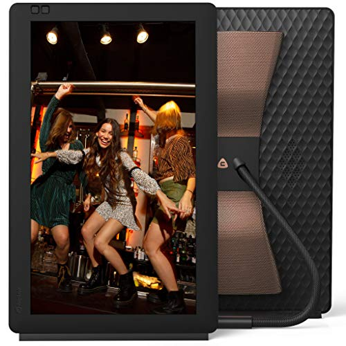 Nixplay 13.3 Zoll Bluetooth digitaler Bilderrahmen, E-Mail, App, Google Fotos, Dropbox, Verizon Cloud, Facebook und Instagram Verbindung, Model: Seed Wave