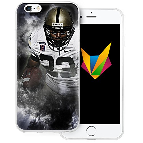 dessana American Football transparente Silikon TPU Schutzhülle 0,7mm dünne Handy Soft Case für Apple iPhone 6/6S Football League
