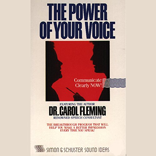 The Power of Your Voice audiobook cover art