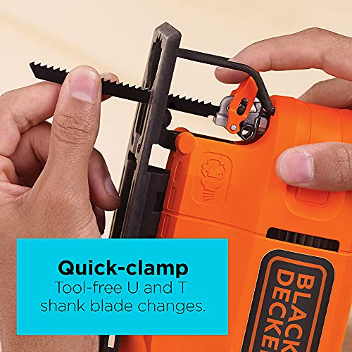 BLACK+DECKER Jig Saw, 4.5 -Amp (BDEJS300C)