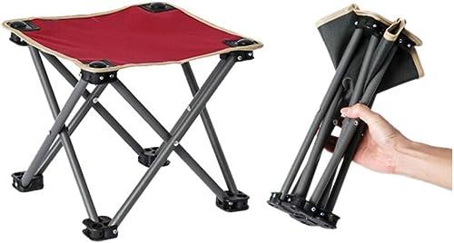 en promociones de estadios Hwt's Folding chair Silla de de de Acampar Al Aire Libre Asiento Adecuado para La Pesca de Senderismo 29  29  25 Cm (negro rojo) (Color   rojo, UnitCount   2 Packs)  Tienda de moda y compras online.