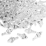 Acrylic Clear Ice Rock Diamond Chandelier Drops Crystals Treasure Gems for Table Scatters, Event, Wedding, Arts & Crafts, Birthday, Hanging Decoration Favor (112 Pieces)