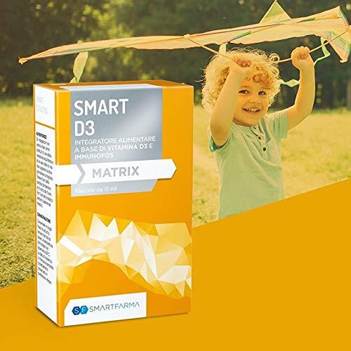 Smart D3 Matrix - Integratore di vitamina D3 e Immunofos
