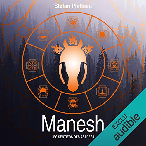 Manesh audiobook cover art