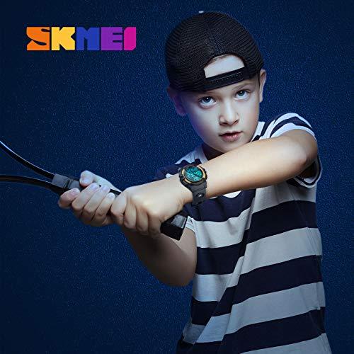 SoKy Montres numériques pour Les Enfants de 6-15 Ans, Cadeau Enfant 6-15 Ans Garcon Jouets pour...