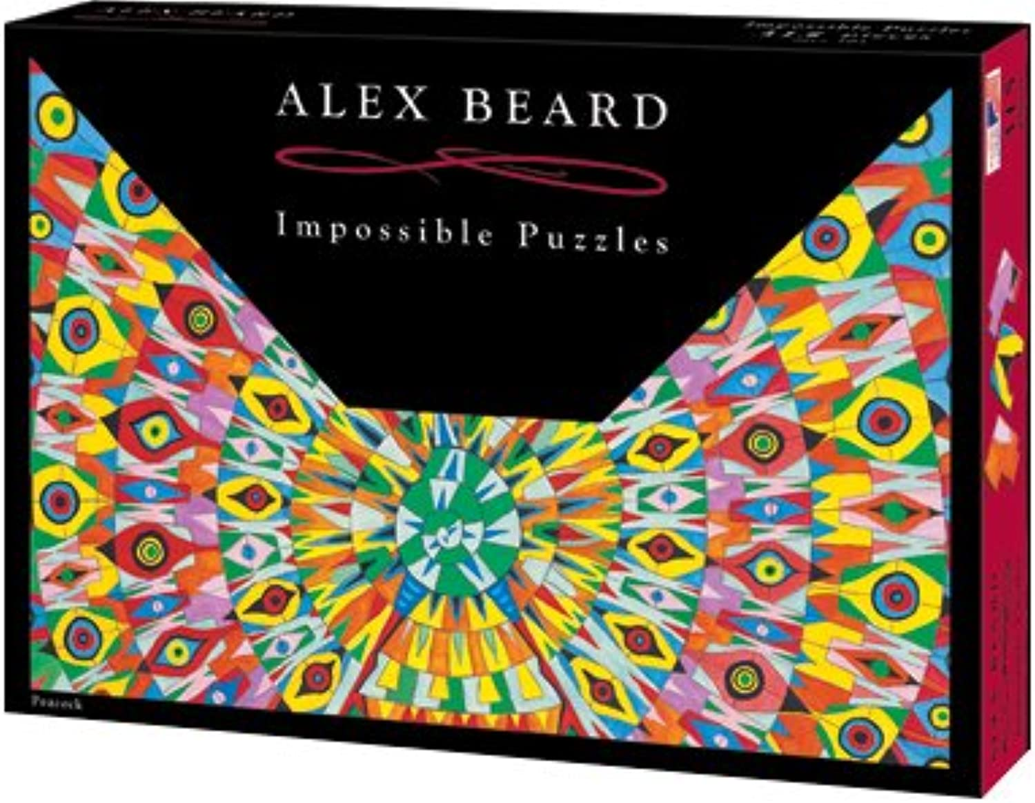 Alex Beard Impossible Jigsaw Puzzle  Peacock