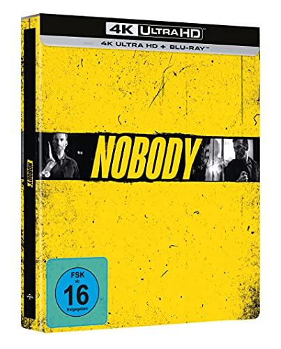 Produktbild von Nobody - Limited Steelbook exklusiv bei amazon.de (4K UHD + Blu-ray)