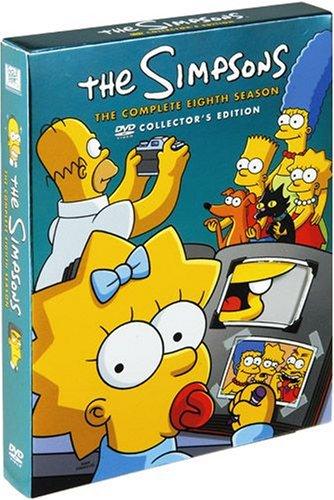ザ・シンプソンズ シーズン8 DVDコレクターズBOX