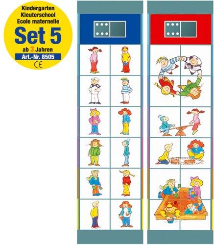 Flocards Junior Set 5: Kindergarten ab 3 Jahren