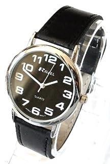 Ravel Black Dial Black Strap Unisex Watch R0105.07.1 (B004LXWRH6) | Amazon price tracker / tracking, Amazon price history charts, Amazon price watches, Amazon price drop alerts