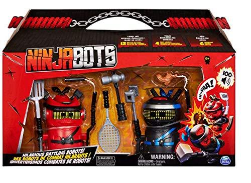 Ninja Bots, 2 Pack - Battle Robots