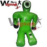 Wagsam Sports Grappling BJJ- Amplio hombro para entrenamiento de artes marciales y artes marciales