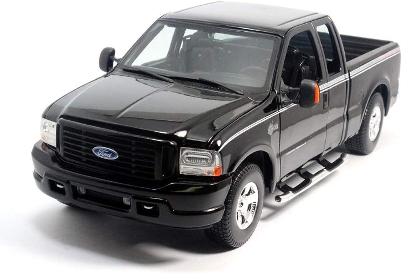 precios al por mayor Maisto 1 1 1  18 Ford Pickup F350 Bull Racing Coches Diecast Metal Modelo de Coche de Juguete de Regalo para Niños Modelos Escala Vehículos  Web oficial