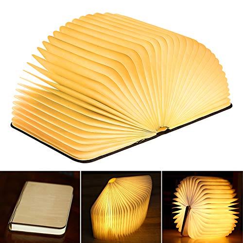 La lampe LED en forme de livre