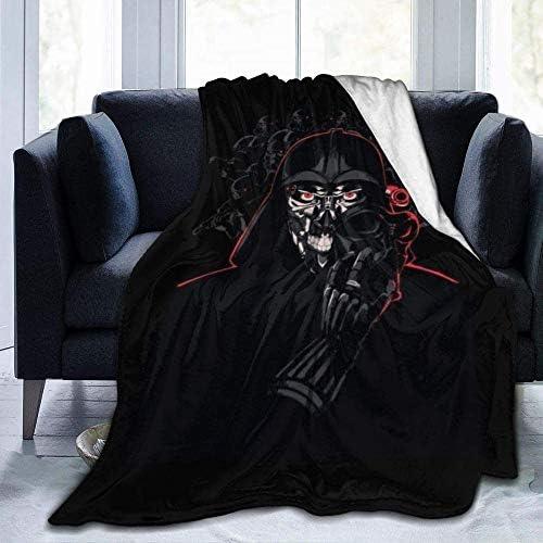 Inhomer Couverture Star Wars couvertures en Flanelle Couverture Chaude Moelleuse Super Douce en Microfibre pour Lits et canapés Plusieurs Tailles disponibles-80 x60