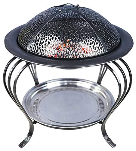 Olla caliente de carbón para interior, horno doméstico, calefacción, parrilla de barbacoa al aire libre, parrilla de carbón sin humo, horno de barbacoa, estufa de Picnic 45CM