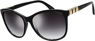 نظارة شمسية نسائية مربعة الحجم من Jackie O Cat Eye Hybrid Butterfly Fashion - تغليف رائع