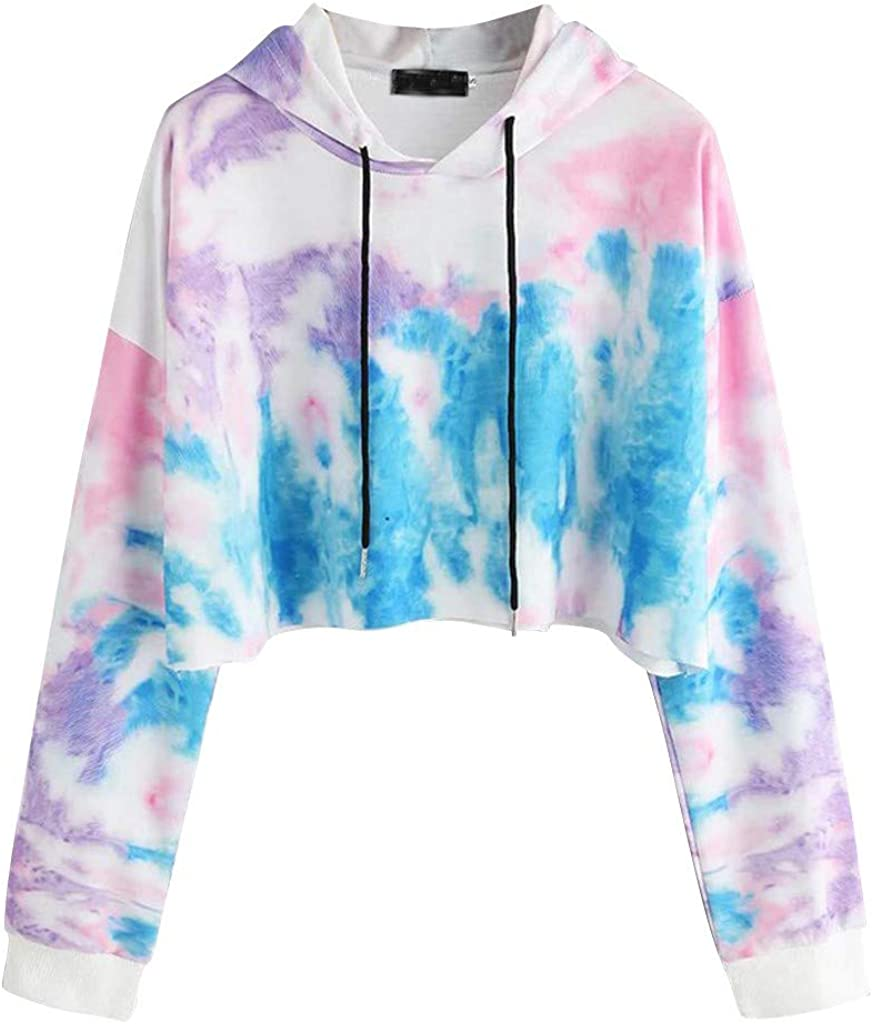 Hamleo Womens Fashion Hoodie Product Tie Sweatshirt Ranking TOP12 Pullover Dye