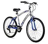 Kent Pomona Men's Dual Suspension Comfort Bike, 26-Inch