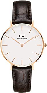 Daniel Wellington Women's Analogue Quartz Watch with Leather Strap DW00100176