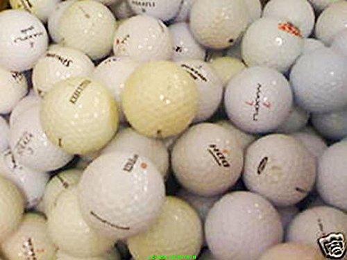 100 gebrauchte Golfbälle (Lakeballs, Crossgolfbälle)