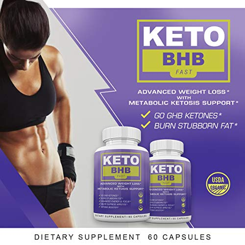 Keto BHB Fast - Advanced Weight Loss with Metabolic Ketosis Support - 180 Capsules - 90 Day Supply 6