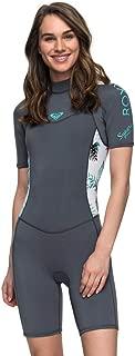 Roxy Womens 2/2Mm Syncro Short Sleeve Back Zip Flt Springsuit for Women Erjw503007