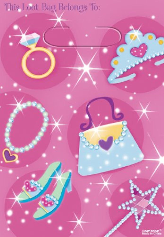 COOLMP – Set di 12 – Borsa Principessa Gala – Taglia Unica – Decorazione Accessori per Feste, Animazione, Compleanno, Matrimonio, Eventi, Giocattoli, Ptuttione