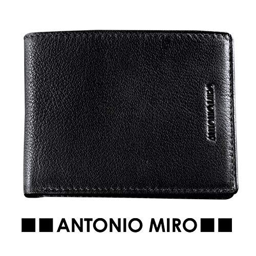 cartera Tarjetero para hombre de piel Firma Antonio MIRO '