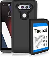 LG V20 Extended Battery, 10800mAh Replacement Battery with Soft TPU Full Edge Case for LG V20 BL-44E1F US996 H910 H918 VS995 (3 Year Warranty)