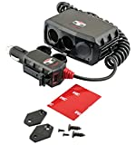 Custom Accessories Tuff Tech 23378 Triple 12V with 2.8A USB Charger
