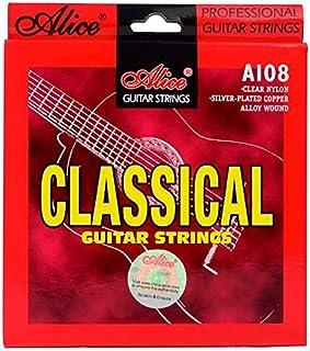 طقم اوتار اليس للجيتار الكلاسيكي كلاسيك نايلون