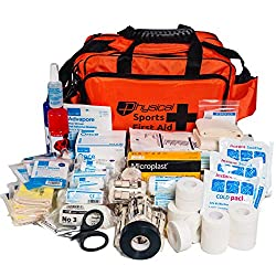 Professional Rugby First Aid Kit Orange Bag