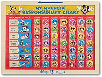 Melissa & Doug Mickey Mouse Magnetic Responsibility Chart