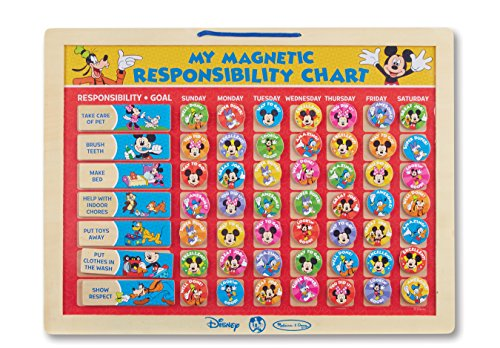 Melissa & Doug Mickey Mouse Magnetic Responsibility Chart