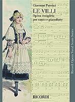 Partitions classique RICORDI PUCCINI G. - LE VILLI - CHANT ET PIANO Voix solo, piano