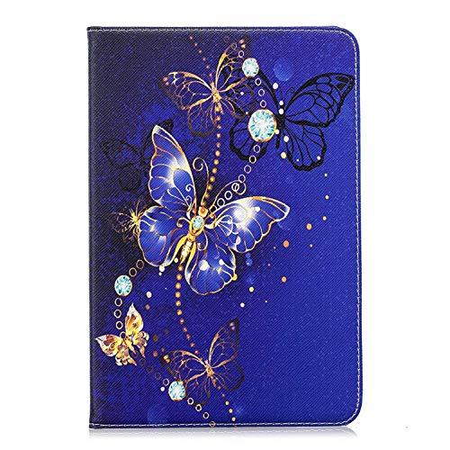 Felfy Okssud Hülle für iPad Mini 4,iPad Mini 2 Hülle Leder Flip Case PU Leder Case Cover Wallet Tasche Tablet Klappständer mit Ständer Funktion und Kartenfach Flip Cover SchutzHülle