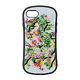 ポケモンセンターオリジナル iPhone8/7/6s/6対応ハイブリッドガラスケース Pokémon Center SHIBUYA Graffiti Art レックウザ
