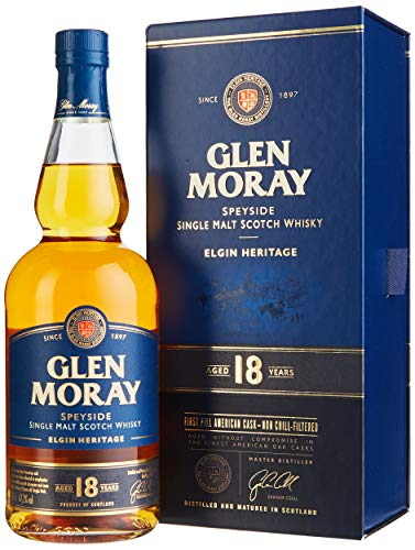 Glen Moray single malt 18yrs 1 x 0.7 l